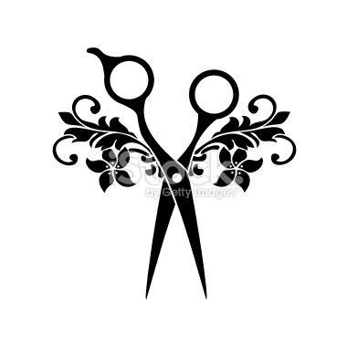 Beauty salon symbol Royalty Free Stock Vector Art Illustration