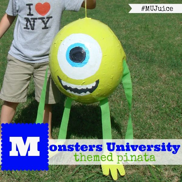How to make a Monsters University Pinata