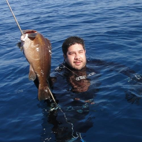 Spearfishing with friends 23/02/2013
