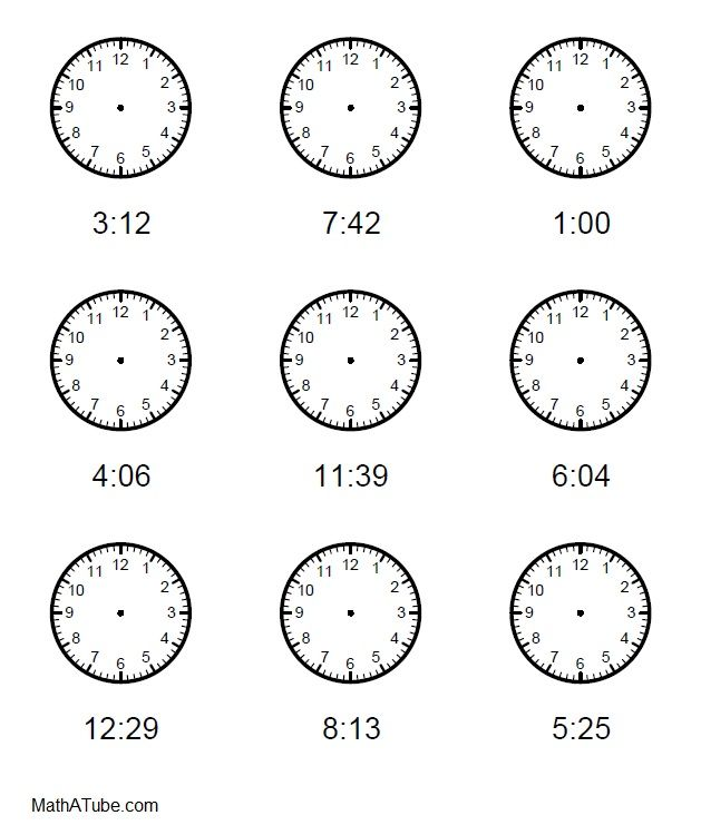 1000 images about telling time printables on pinterest to tell blank clock and word problems. Black Bedroom Furniture Sets. Home Design Ideas