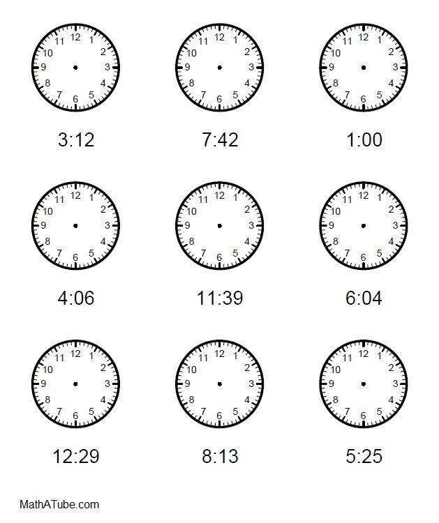 Free Worksheets Time Worksheets Generator Free Math Worksheets – Telling Time Worksheet Generator