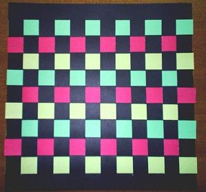 Another construction paper placemat