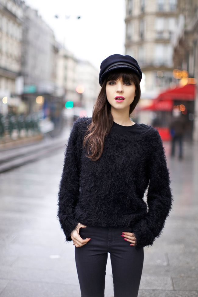 I want one of these for winter!!  Paris fashion blog