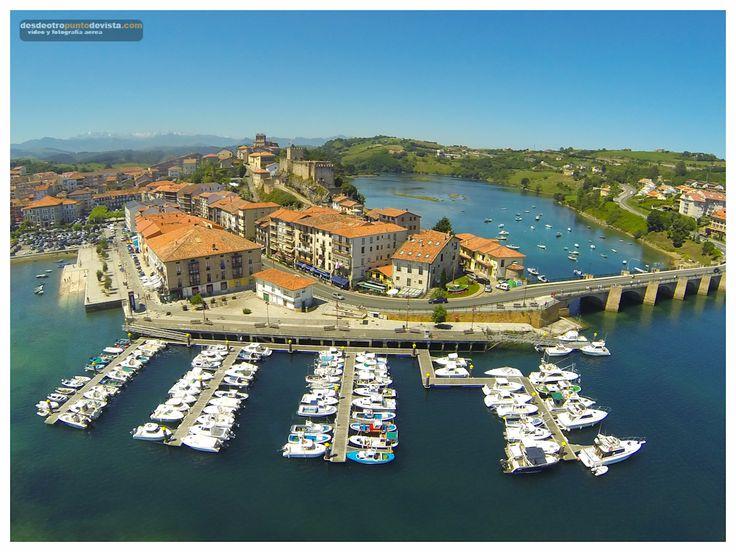 San Vicente de la Barquera // Galería fotos aereas de Cantabria | desdeotropuntodevista.com