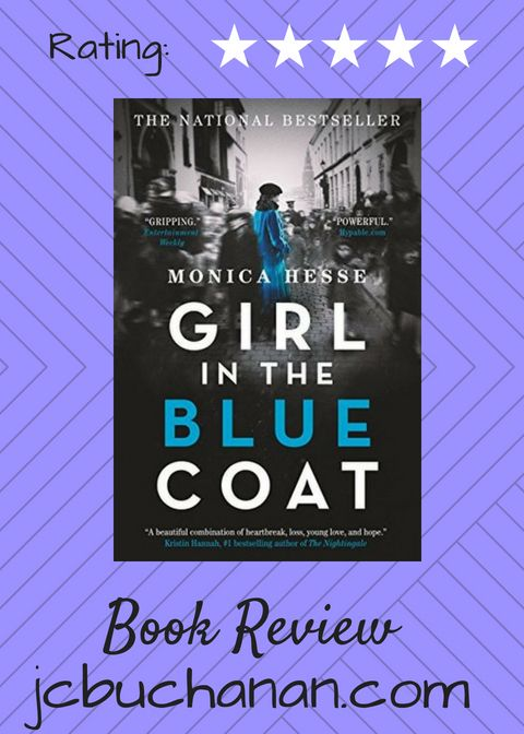 9c9e201b6d540 My Purple Pen - Girl in the Blue Coat by Monica Hesse (Book Review ...