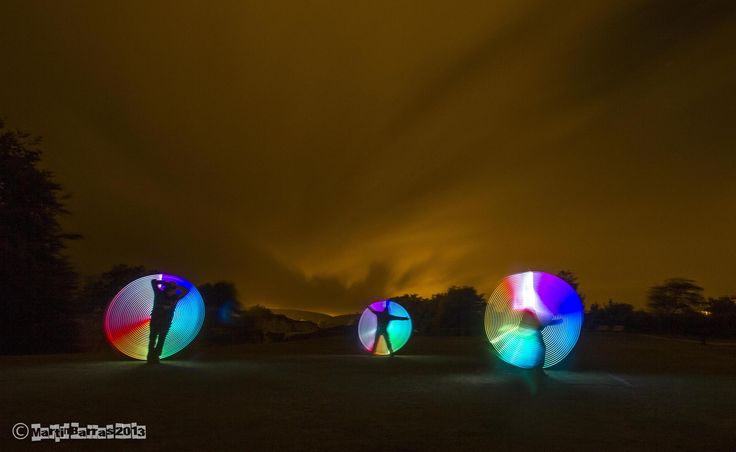 Mart Barras - Light Painting - Circlemarker - Canon EOS 550D - 3/08/2013