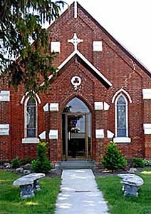 Since  2002, St Stephen's Anglican, Thamesville, Ontario has been part of the six-point Parish of the  Transfiguration.
