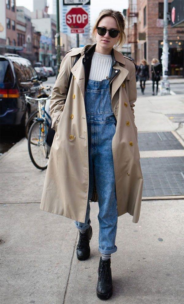 11 provas que o macacão jeans ainda é muito cool