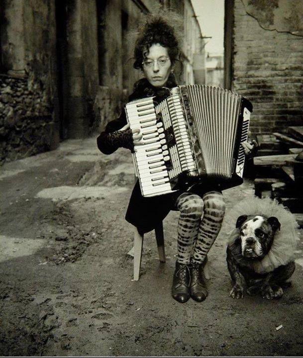 La mujer de Fellini, 1987 © Alberto García Alix