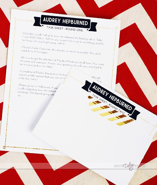 Murder Mystery Party Printables!