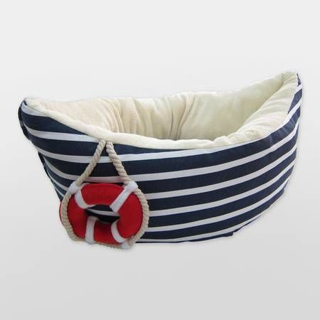 Petit Marin Range Sailor Boat Dog Bed