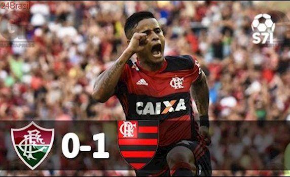 Fluminense 0 x 1 Flamengo - Melhores Momentos - Campeonato Carioca 2017