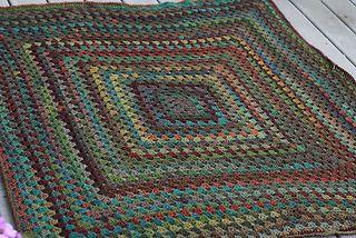 Amazing Granny Afghan crochet ravelry free
