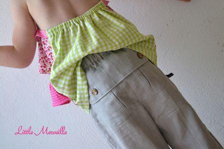 pantalon parachute, poche popotin