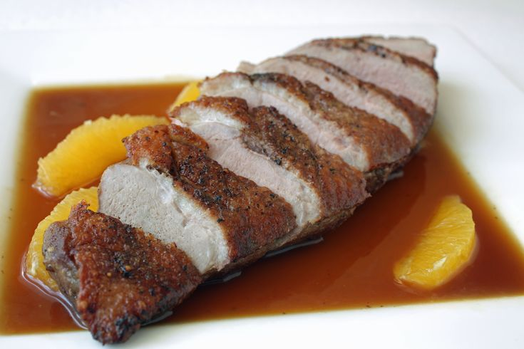 Try something different tonight with this classic #Duck a'la Orange #recipe! http://www.theculinaryexchange.com/blog/duck-ala-orange-a-simple-duck-breast-recipe/#.Vk4OohCrRE5