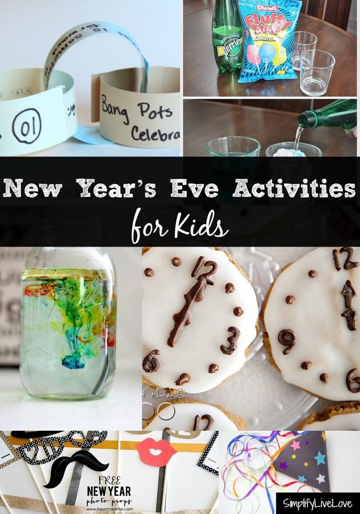 Fun Things To Do New Years Eve