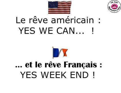 Americans should be a little more like the French in this respect:)
