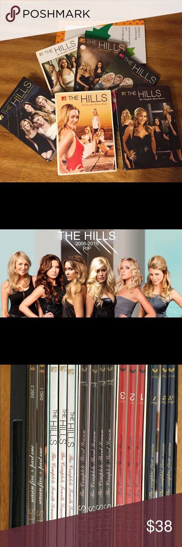 MTV's The Hills Seasons 1-5 DVDs Binge watch this Fall & Winter with MTV's The Hills Seasons 1-5 parts 1 & 2 on DVD. A show every fashionista should watch for some good catty drama 😜 One price gets every season!!💥✨💫💸Make an offer!!! You never know if you don't try!!💥✨💫💸 MTV Other