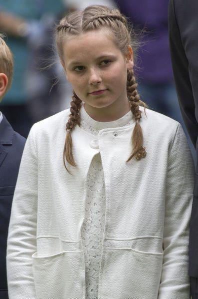 Du haut de ses 12 ans, la princesse Ingrid Alexandra de Norvège a inauguré ce jeudi un parc de sculptures à Oslo, entourée de toute la famille royale....