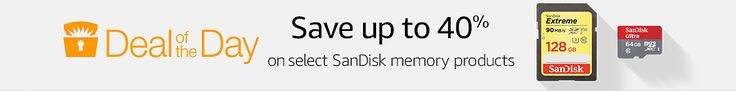 Amazon: Save Up to 40% off Select SanDisk Memory Products