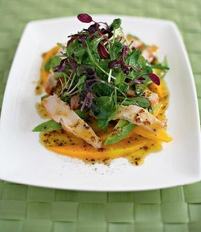 Mango, Avocado and smoked chicken salad ~ Easy, healthy and delicious ...