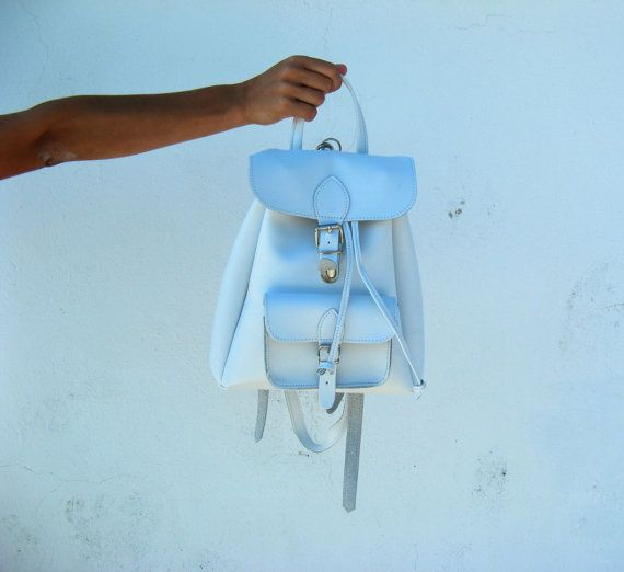 Bags BackpacksLeather small laptop bag 10 colours by EATHINI
