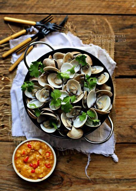 Cooking With Love: Kerang Rebus Sambal Kacang Nanas