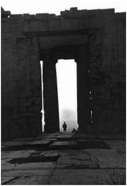 Fritz Henle Parthenon Sunset, Greece via