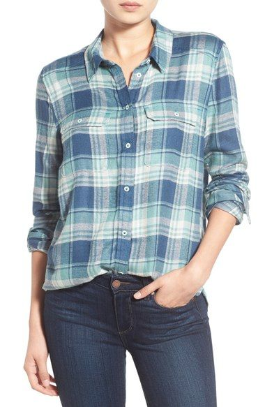 Paige Denim 'Trudy' Plaid Shirt available at #Nordstrom