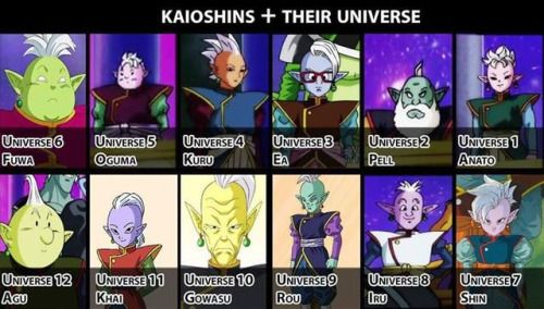 All Kaioshin names and their universe revealed!... #Anime #Manga #AnimeCruzers #AnimePill