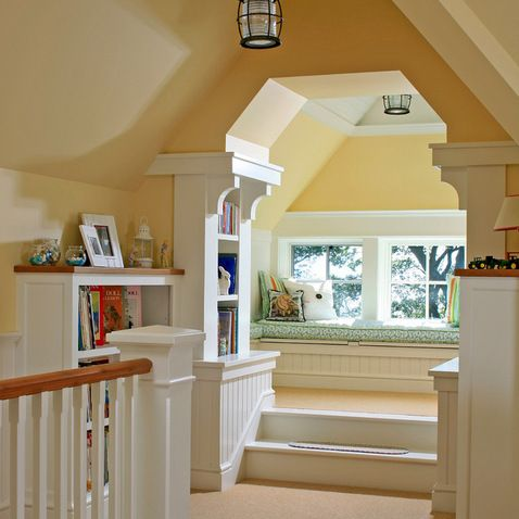 33 best images about finished attic on pinterest attic for Small attic room ideas