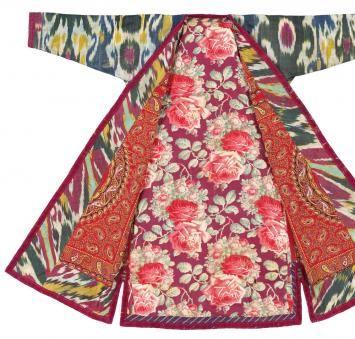 Beautiful Central Asian fabrics