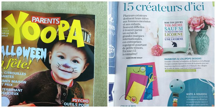 In a magazine! www.stick2me.net www.colleamoi.com
