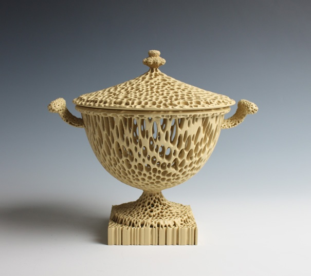 """The Wedgwoodn't Tureen"", a contemporary revisitation of objects that are symbolic of the first Industrial Revolution, with the use of innovative ceramics, processes and techniques."