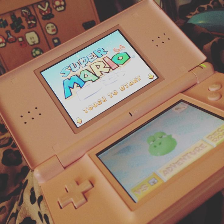 Bought a new #game for my #pink  #nintendods - #mario64ds #Nintendo #gaming#mario#nintendohandheld #nintendodslite #games #fun #yay #happiness #atm #gamergirl #picoftheday #instagood #f4f #gamer #gamersofinstagram #today #videogames #Dontmasturbatetothispic #b #materia #misc #gamergurl #funtimes #l2p