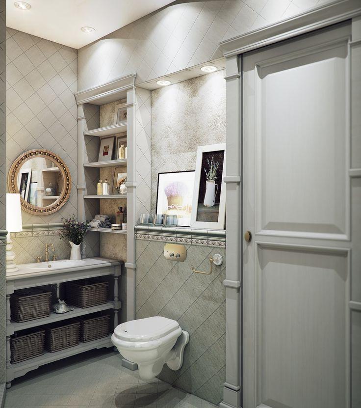 Ванная комната в стиле прованс: фото