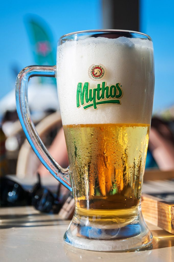 Greek Summer with Mythos Beer