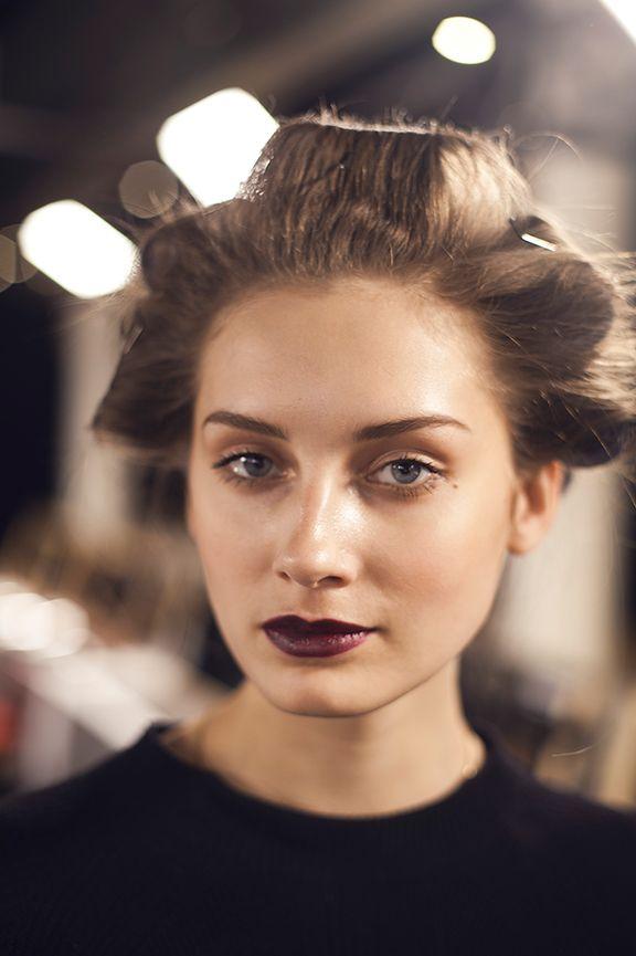 Fashion Week Behind-the-Scenes Hair