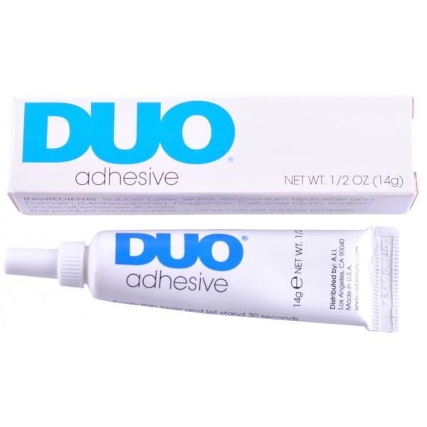 Duo Lash Glue. I prefer the white over black