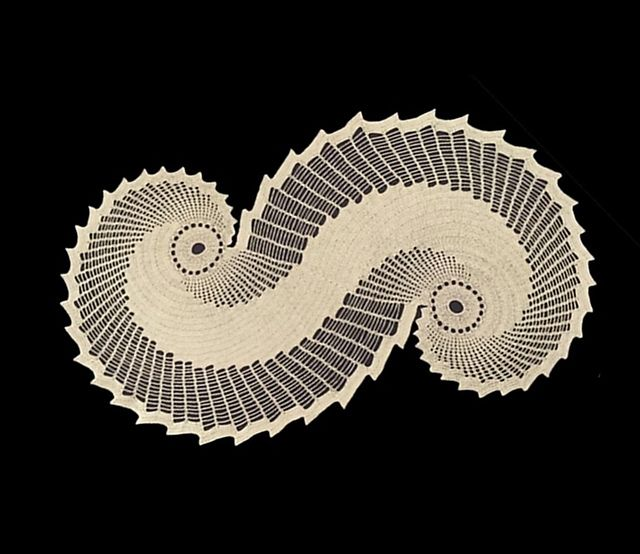 Ravelry: Snail Doily pattern by H. Toprak