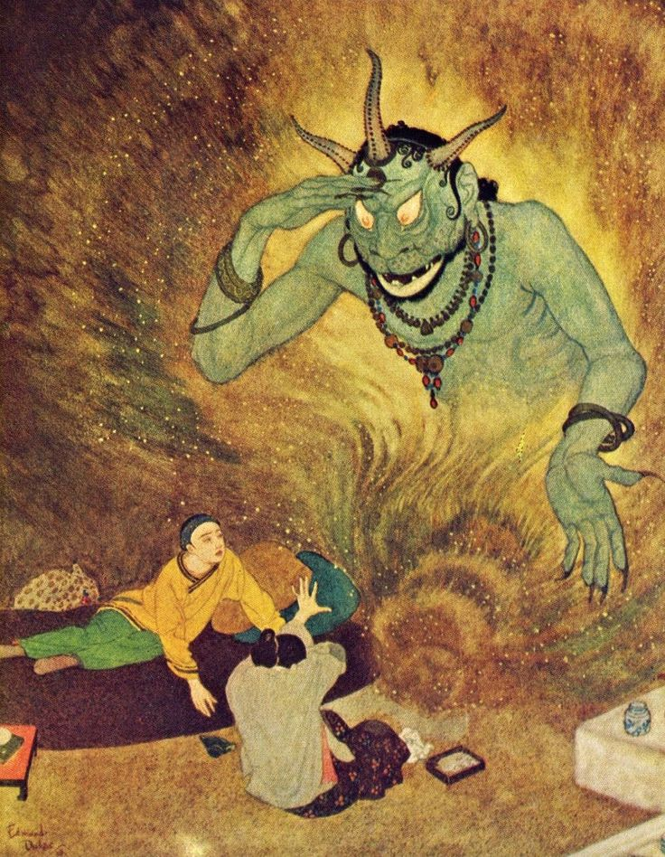 ghost in the machine - Today's Classic: Edmund Dulac (1882-1953)