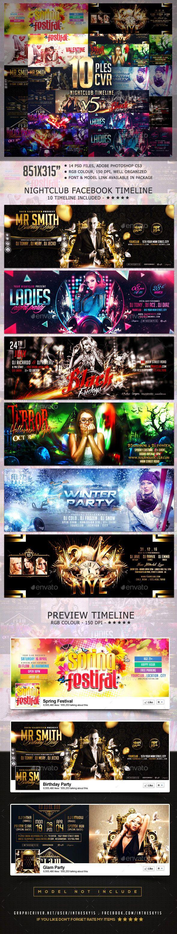 Nightclub V5 FB Timeline Cover
