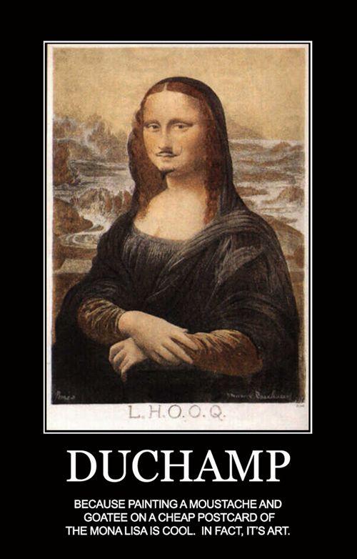 Marcel Duchamp, L.H.O.O.Q, 1917 | DADAism | Pinterest ... Dadaism Mona Lisa