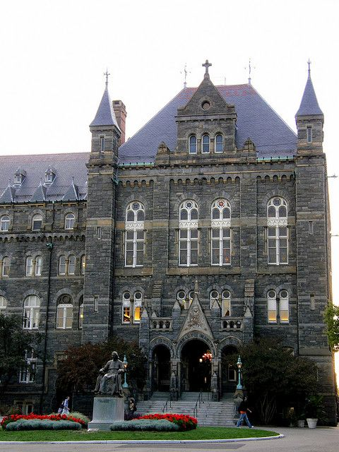 Georgetown University...shouldnt have turned it down :(