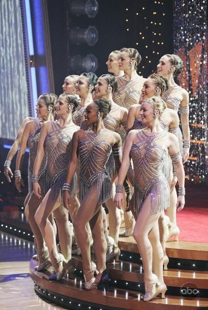The Radio City Rockettes in Dancing with the Stars