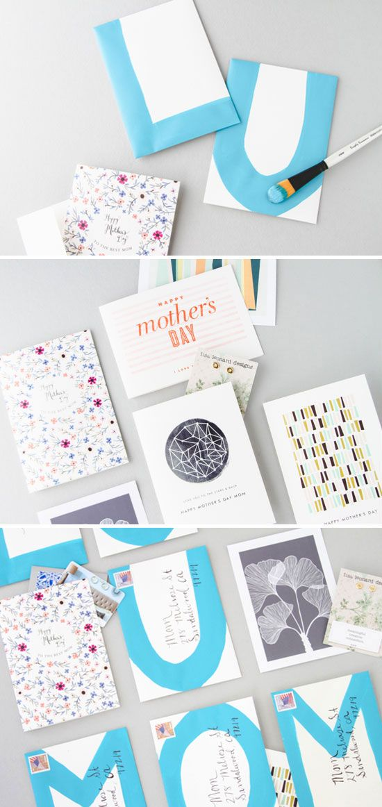 How to make a mailable message for Mother's Day