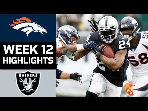 The Denver Broncos take on the Oakland Raiders in Week 12 of the 2017 NFL Season.