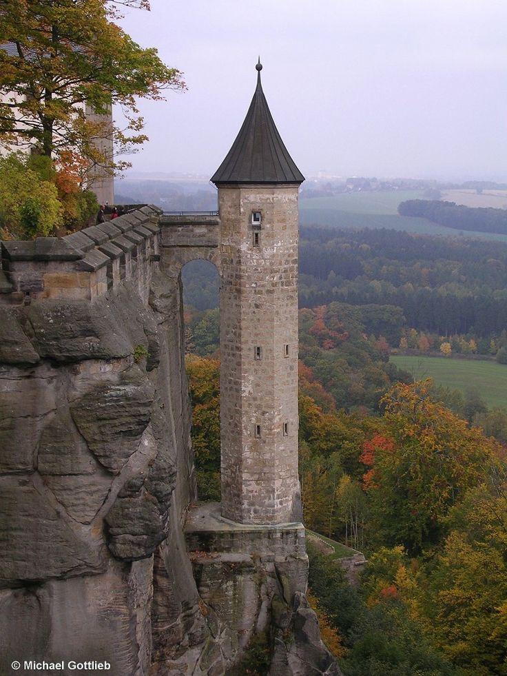 Hungerturm, Festung Königstein, Sächsische Schweiz, Deutschland, 2008, photo: Michael Gottlieb (Cool Places Numbers)
