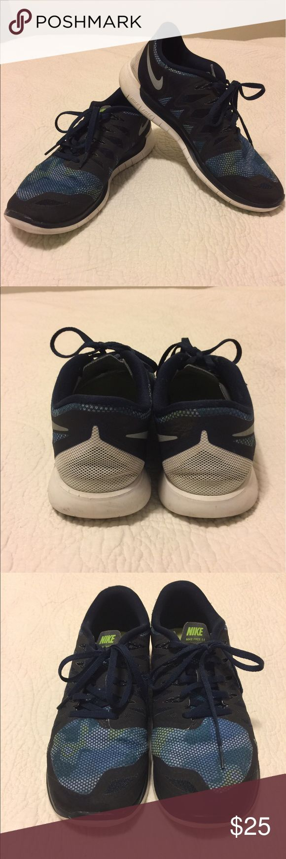 Nike Free 5.0 shoes Excellent condition Nike Free 5.0 shoes size 9. Purchased from a posher and am just not a fan of the newer version of the 5.0. I prefer the older version. Nike Shoes Athletic Shoes