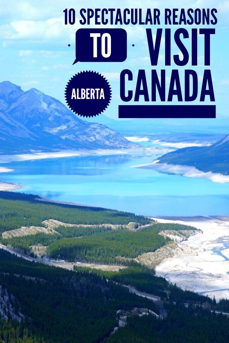 10 amazing locations to visit in Alberta Canada